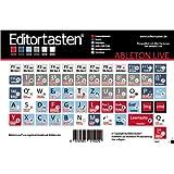 Ableton Live 6-9autocollants pour clavier avec raccourcis (commande/ abréviation) en allemand
