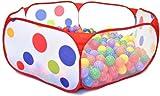 200 Phthalates Free Non-Toxic Crush Proof Non-Recycled 6.0cm Play Ball & Polka Dot Hexagon Pen