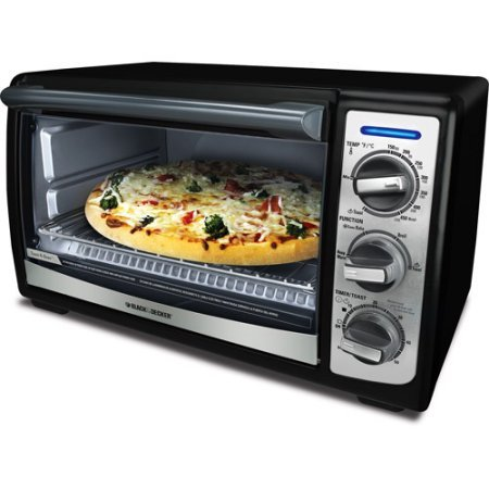 Black & Decker 4-Slice Countertop Convection Oven