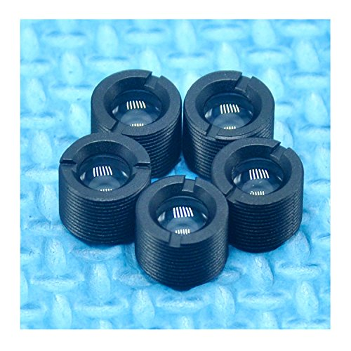5pcs 200nm-1100nm Laser Collimating/Focusable Lens Plastic w/ M9x0.5 Holder
