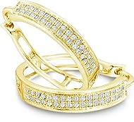 10k White Gold Diamond-Cut Cross Band Abstract Crucifix Ring 11.75