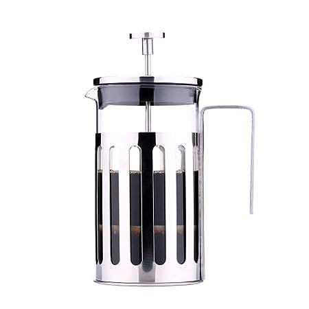 Cafetera francesa de presión de acero inoxidable Cafetera de ...