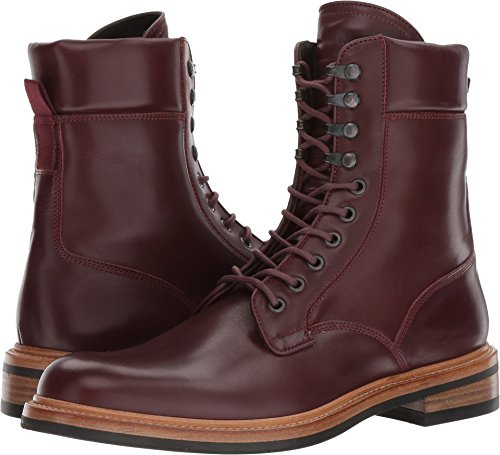 rag & bone Men's Spencer Military Boot Oxblood 43 D EU
