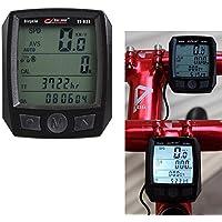 nacola odómetro velocímetro bicicleta de ciclismo impermeable Computer Speeding Recordatorio de equitación en tiempo real Velocímetro de la visualización