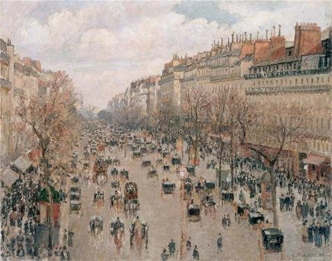 Roger Rabbit Costume Pattern (The Perfect Effect Canvas Of Oil Painting 'Boulevard Monmartre In Paris,1897 By Camille Pissarro' ,size: 18x23 Inch / 46x58 Cm ,this High Resolution Art Decorative Canvas Prints Is Fit For Living Room Decor And Home Gallery Art And Gifts)