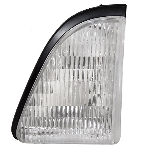 DAT AUTO PARTS Parking Light Replacement for 87-93 Ford Mustang Next to Head Light Left Driver Side FO2520106 ()