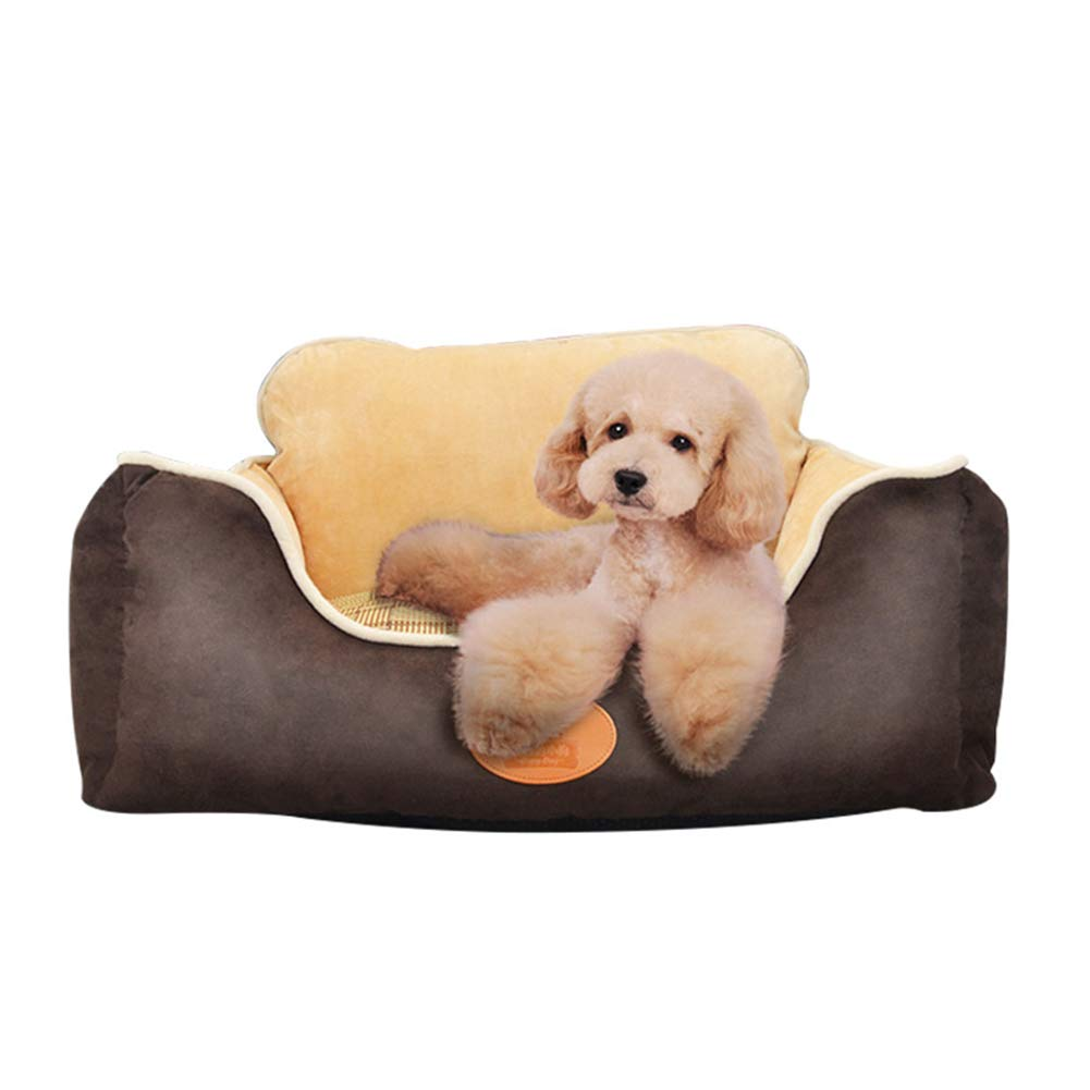 Coffee color 706022cm Coffee color 706022cm KMILE Pet Bed,Four seasons universal Orthopedic Dog Bed,Memory Foam Pet Bed with Removable Washable Cover,Both sides available Pet Bed