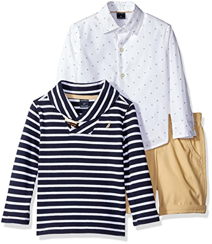 Nautica Toddler Button Sweater Shorts
