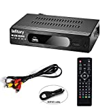 Infitary Digital ATSC HD TV Receiver Converter Tuner Box for Analog TV with Recording PVR Function HDMI YPbPr RCA Coaxial Composite Output / USB Input