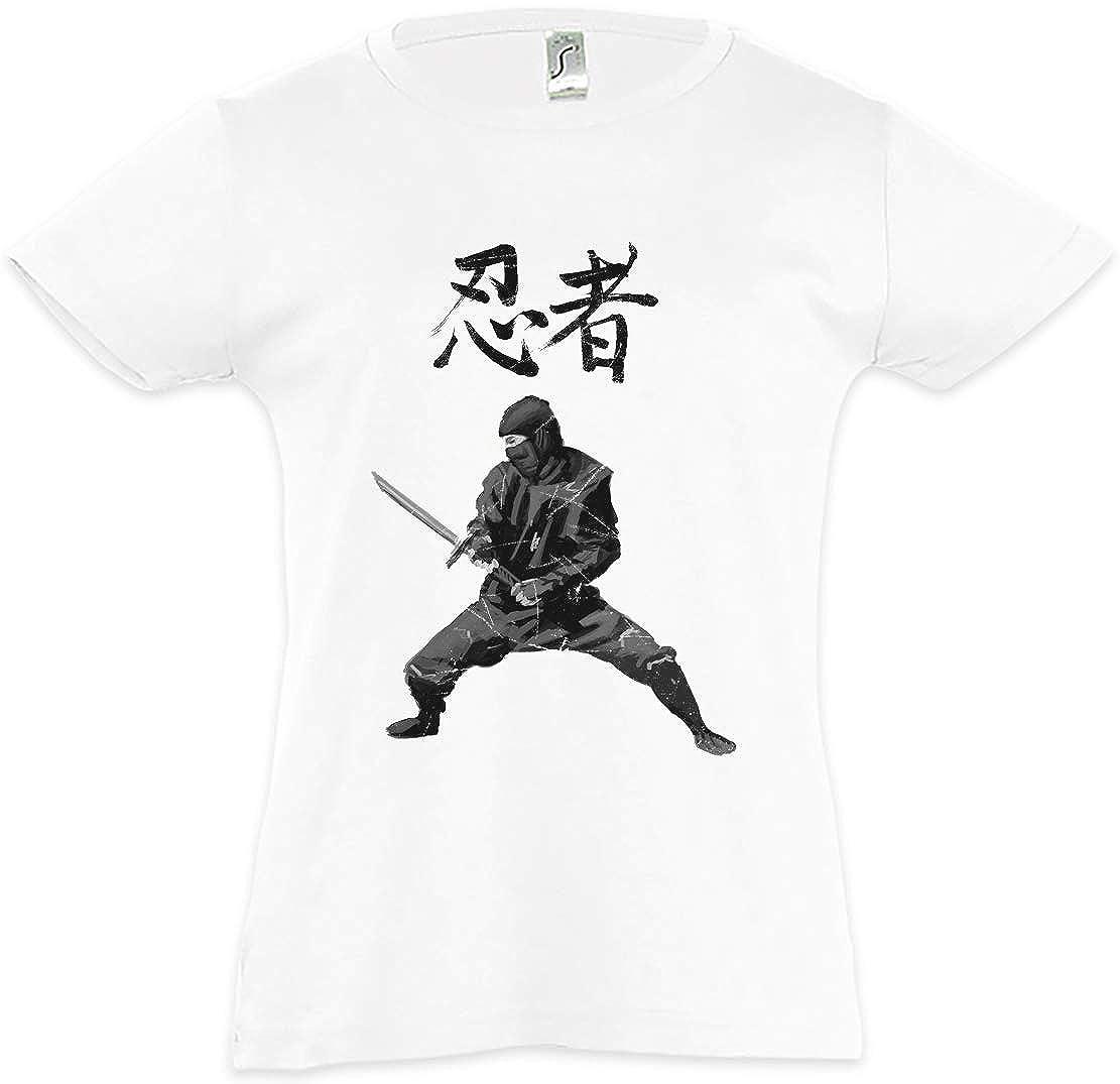 Urban Backwoods Ninja I Camiseta para Niñas Chicas niños T ...