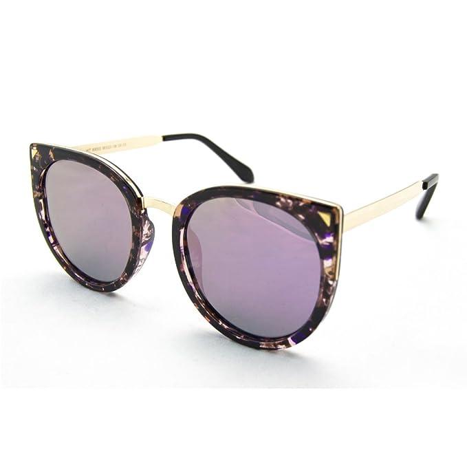 XD Tech Gafas de Sol Polarizadas para Mujer (Morado)