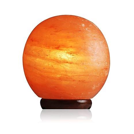 Amazon.com: Lámpara de Sal Sal gemas – (Globe Lámpara Esfera ...