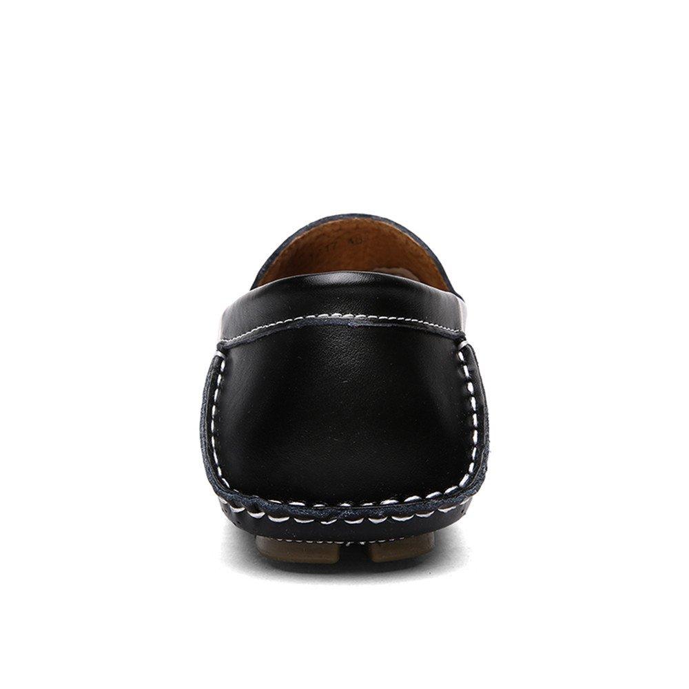 Jiuyue-scarpe Mocassini da guida morbidi Slip-on con suola suola suola piatta da guida (Colore   Nero, Dimensione   44 EU) c843d7