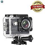 Supreno Full HD 1080P Sports DV Action Waterproof Car Bike Camera