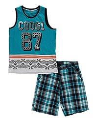 """Coogi Big Boys' """"Paisley Band"""" 2-Piece Outfit"""