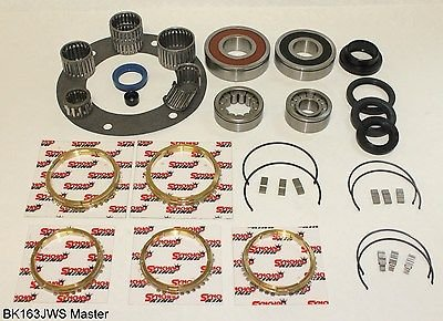 Jeep AX15 5 Speed Transmission Master Bearing Kit, BK163JWS Plus More! by Transolution