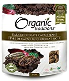 Organic Traditions Dark Chocolate Cacao Beans, 8 oz