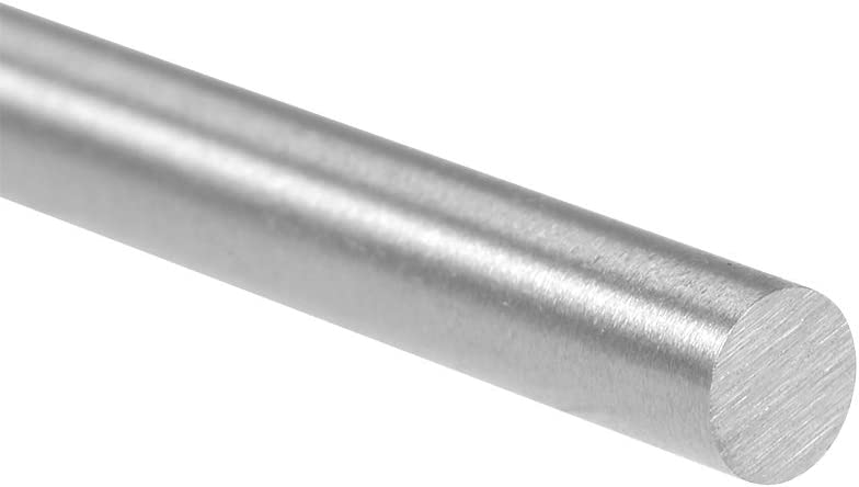Sourcing map Tige ronde en acier rapide 6 mm