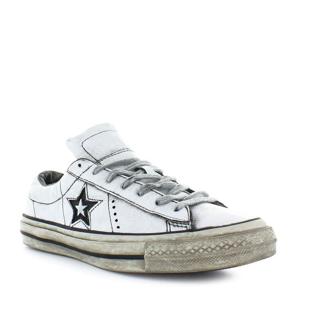 6dbcea1b Zapatos de Hombre Zapatilla Converse All Star Cuero Blanco One Star Otoño  Invierno 2019: Amazon.es: Zapatos y complementos