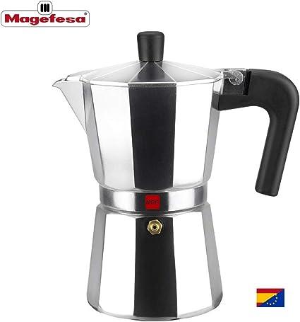M MAGEFESA - Cafetera Modelo Kenia de Aluminio Grueso (6 Tazas ...