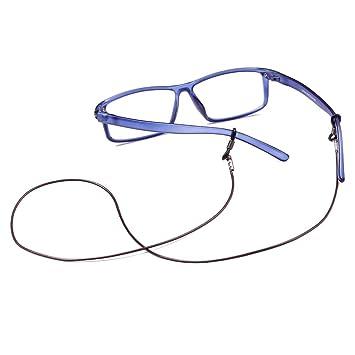jxy Gafas de sol Gafas de vista gafas de vista (Brown ...