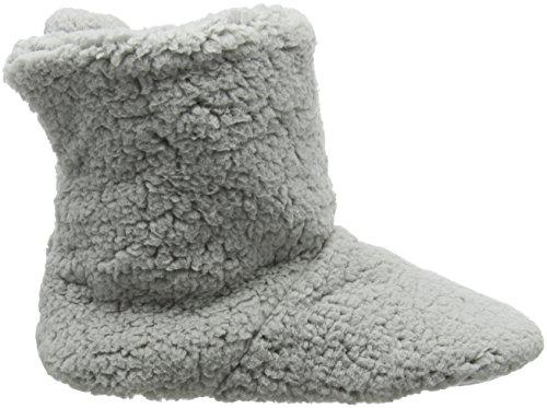 Femme Chaussons Grey Fleece Eaze Gris xBtSwwq