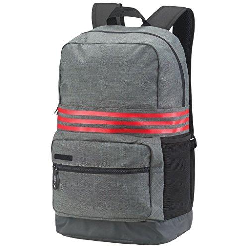 Travel Outdoor Computer Backpack Laptop Bag (Dark Grey) - 9
