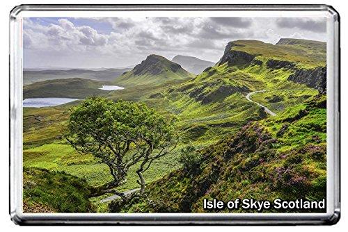 0257 ISLE OF SKYE SCOTLAND JUMBO PHOTO REFRIGERATOR MAGNET FRIDGE MAGNET UNITED KINGDOM LANDMARKS, UNITED KINGDOM ATTRACTIONS (Scotland Fridge Magnet)