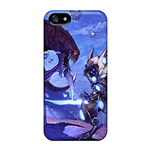 TubandaGeoreb Snap On Hard Cases Covers Starcraft Protector For Iphone 5/5s