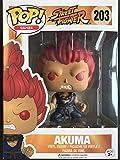 Funko Pop Games Street Fighter Boss Akuma Exclusive Limited Edition Vinyl Figure # 203