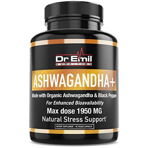 Organic Ashwagandha Capsules Strength Additive Free product image