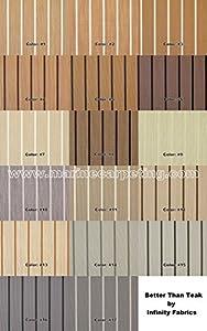 Infinity Marine Vinyl Flooring   Better Than Teak   8.5u0027 Wide (8.5u0027 X 10u0027)