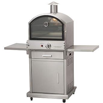 Estilo de vida CS406 Milano Gas barbacoa Pizza horno lfs690