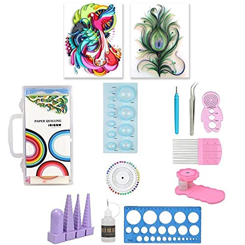 LALICORP 11pcs Paper Quilling Tool DIY Kit Papercraft Work Board Paper Craft DIY Sets Tools Dropshipping