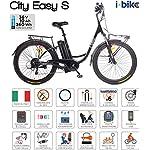 51dVwPyVidL. SS150 Itekk Smart, E-Bike Unisex – Adulto, Blu, M