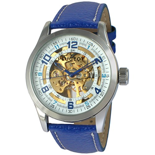 peugeot-mens-stainless-steel-mechanical-hand-wind-and-leather-dress-watch-colorblue-model-1050sbl