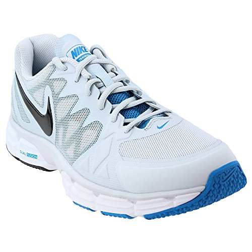 cdc93c0bab176c NIKE New Men s Dual Fusion TR 6 Cross Trainer Platinum Lt Blue 10