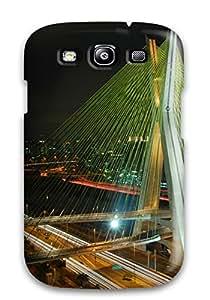 Tpu Shockproof Scratcheproof Octavio Frias De Oliveira Bridge Hard Case Cover For Galaxy S3 4277777K58250966