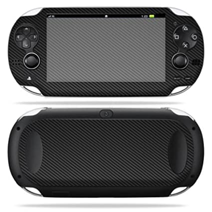 MightySkins Skin For Sony PS Vita – Carbon Fiber | Protective, Durable, and Unique Vinyl Decal wrap cover | Easy To Apply, Remove, and Change Styles | ...