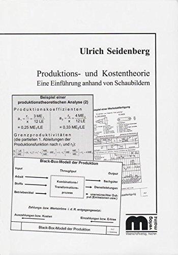 Produktions- und Kostentheorie: Eine Einführung anhand von Schaubildern