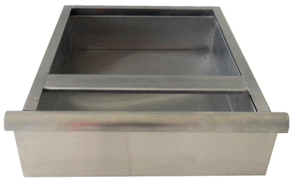 Image of BlendPort BPD-1620-24T Drawer, 16' W x 20' L, for 24' W EL, FL, SL & KL Series Worktables, Silver Commercial Worktables & Workstations