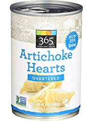 365 Everyday Value, Artichoke Hearts, Quartered, 14.1 oz