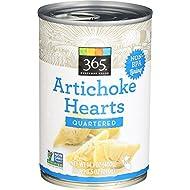 365 Everyday Value, Artichoke Hearts, Quartered, 14.1 oz