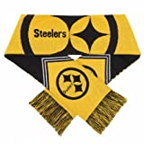 Forever Collectibles 9016317014 Pittsburgh Steelers Scarf - Reversible Stripe - 2016