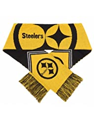 Forever Collectibles 9016317014 Pittsburgh Steelers Scarf - R...
