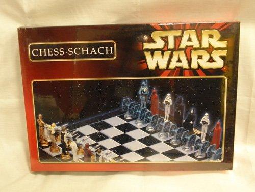 1997年製 STAR WARS(スターウォーズ) CHESS SCHACH(チェスセット)B品の商品画像