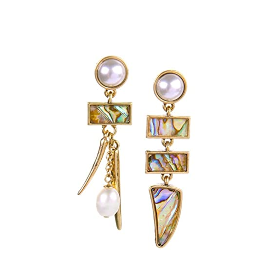10 opinioni per LARESDOMI Vintage con finte perle e