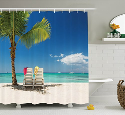 Ambesonne Relaxing Panoramic Bathroom Accessories product image