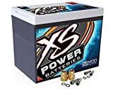 XS Power D2400 XS Series 12V 3,500 Amp AGM Battery+FREE 586 Top-Post Terminals