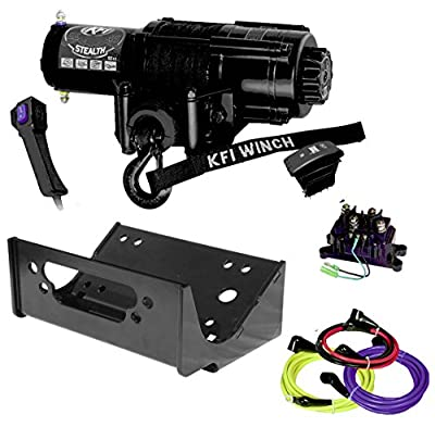 KFI Combo Kit - SE45-R2 4500lbs Winch & Mount Bracket - 2012-2013 Kawasaki Teryx4 750 & 2014-2018 Teryx & Teryx4 800
